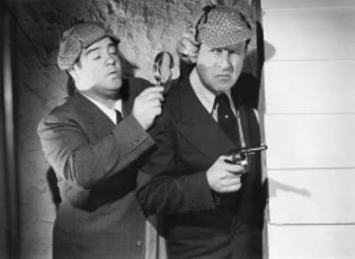 Abbott and Costello Meet Sherlock Holmes